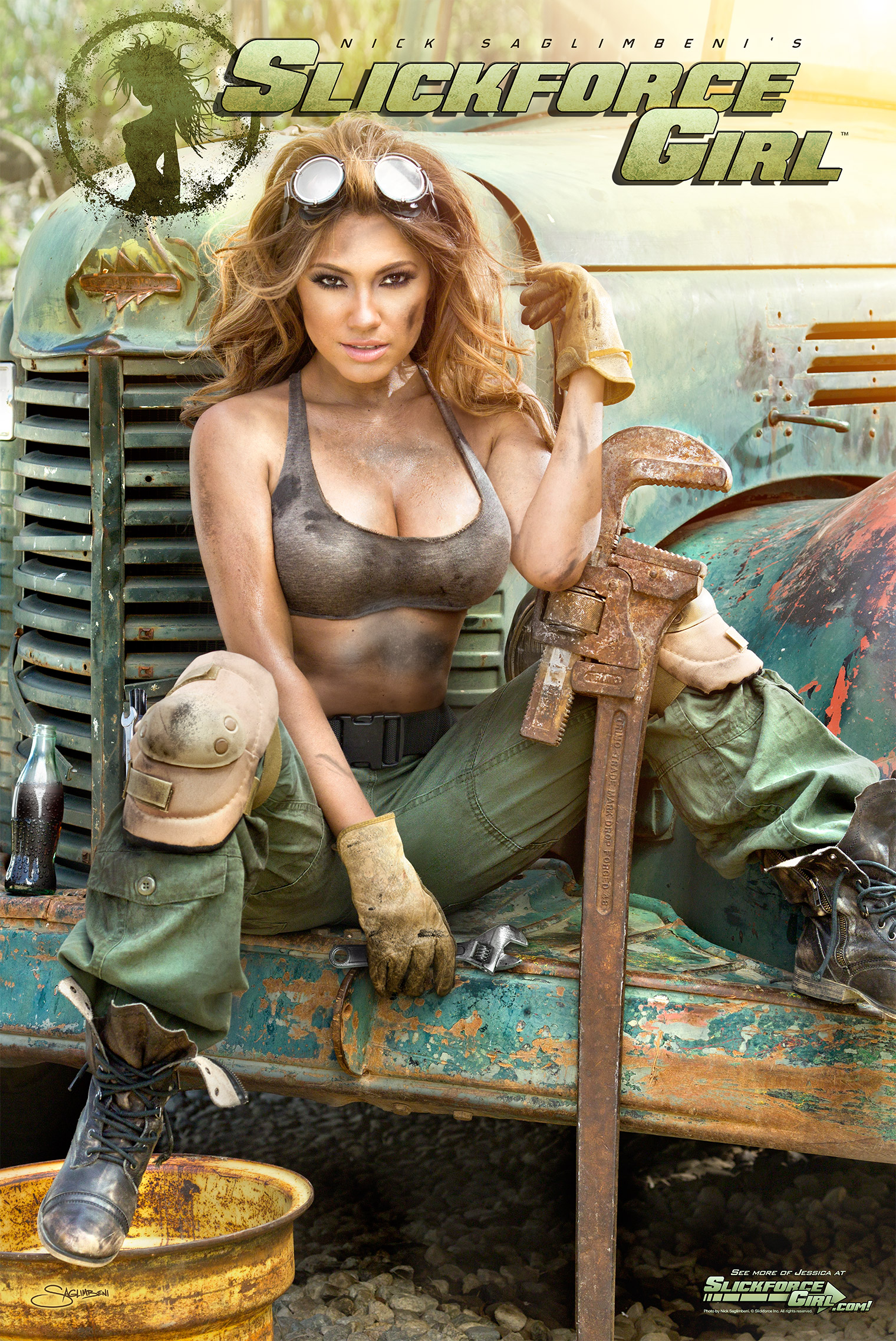 SlickforceGirl-Jessica-Burciaga-Mechanic